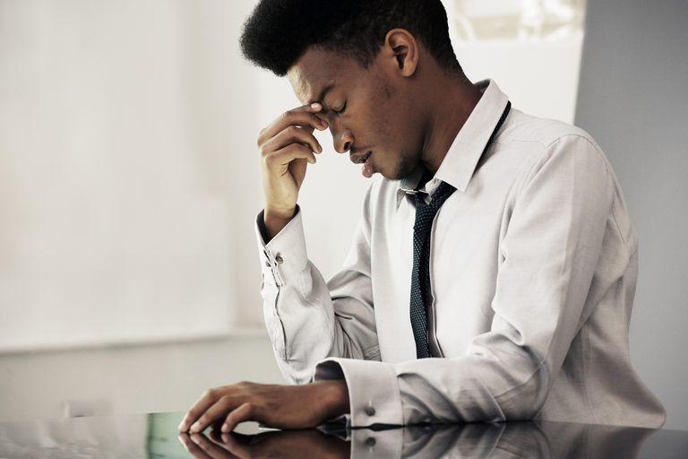 Black male under stress