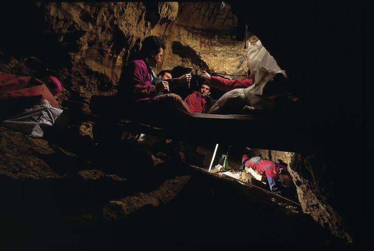 Working in the Pit of Bones Sima de Los Huesos