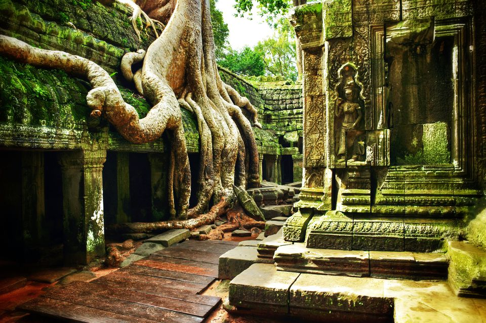 Where is Angkor Wat?