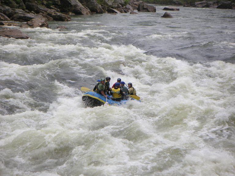 Cheat Canyon Whitewater Rafting