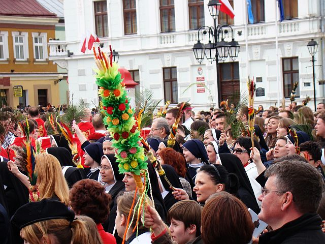 Palm Sunday in Sanok
