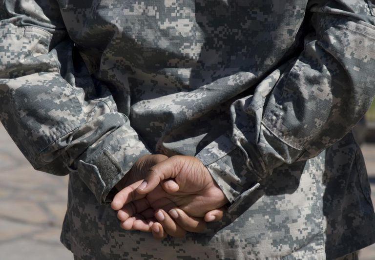 Army Cadet Hands
