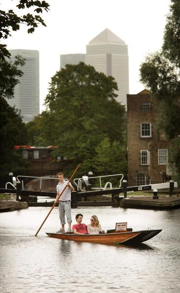 Punting in London