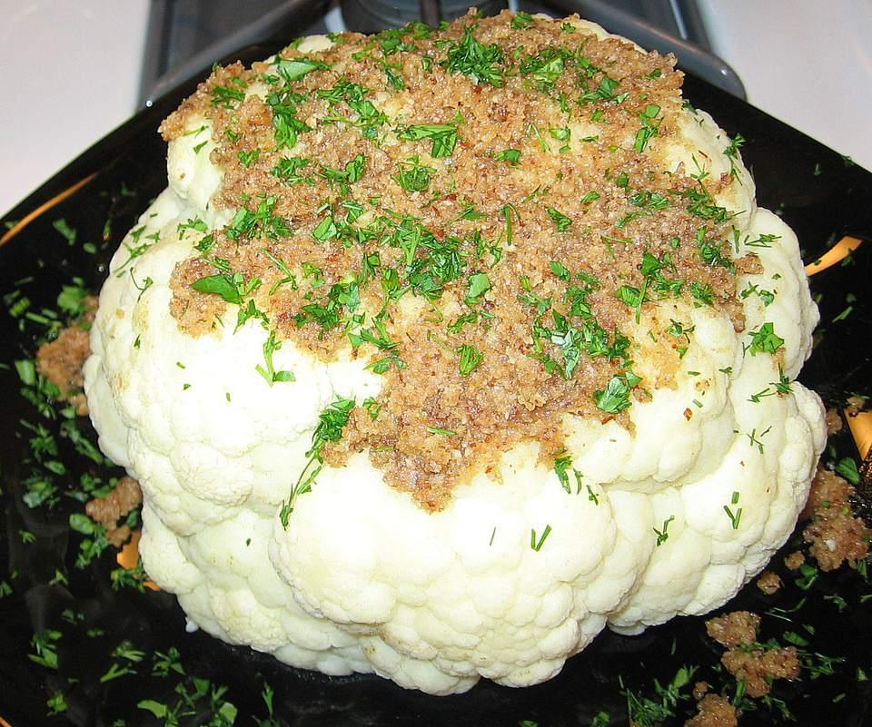 Cauliflower à la Polonaise