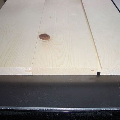 Tongue and Groove Joint