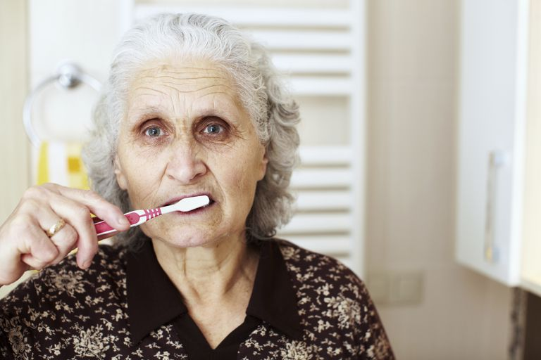 Brushing Teeth and Hygiene Can Be a Challenge in Dementia