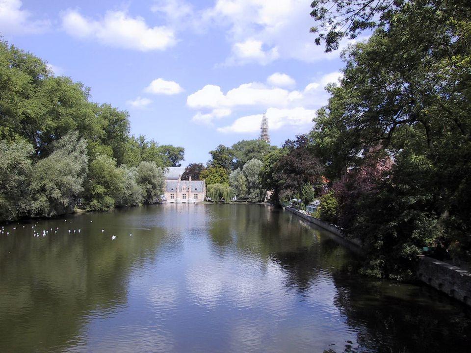 Bruges, Belgium - Lake of Love