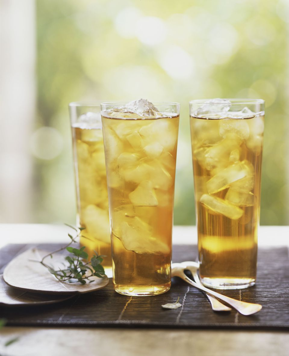 Cold brew yerba mat tea