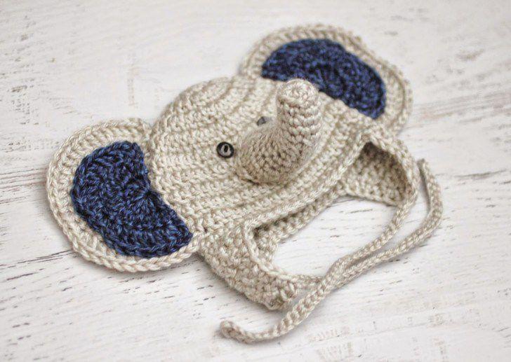 11 free crochet elephant patterns crochet baby elephant hat free pattern dt1010fo