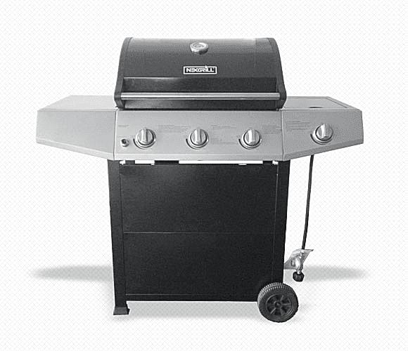 Nexgrill 3-Burner Gas Grill Model# 720-0825