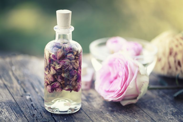 aromatherapy rose massage oil