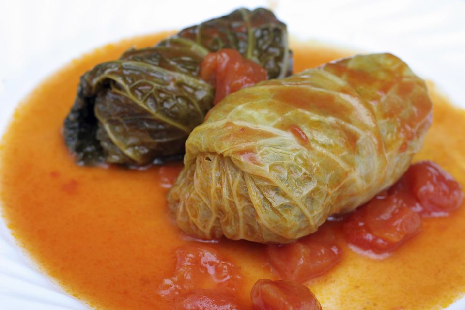 Stuffed Cabbage Rolls Dinner