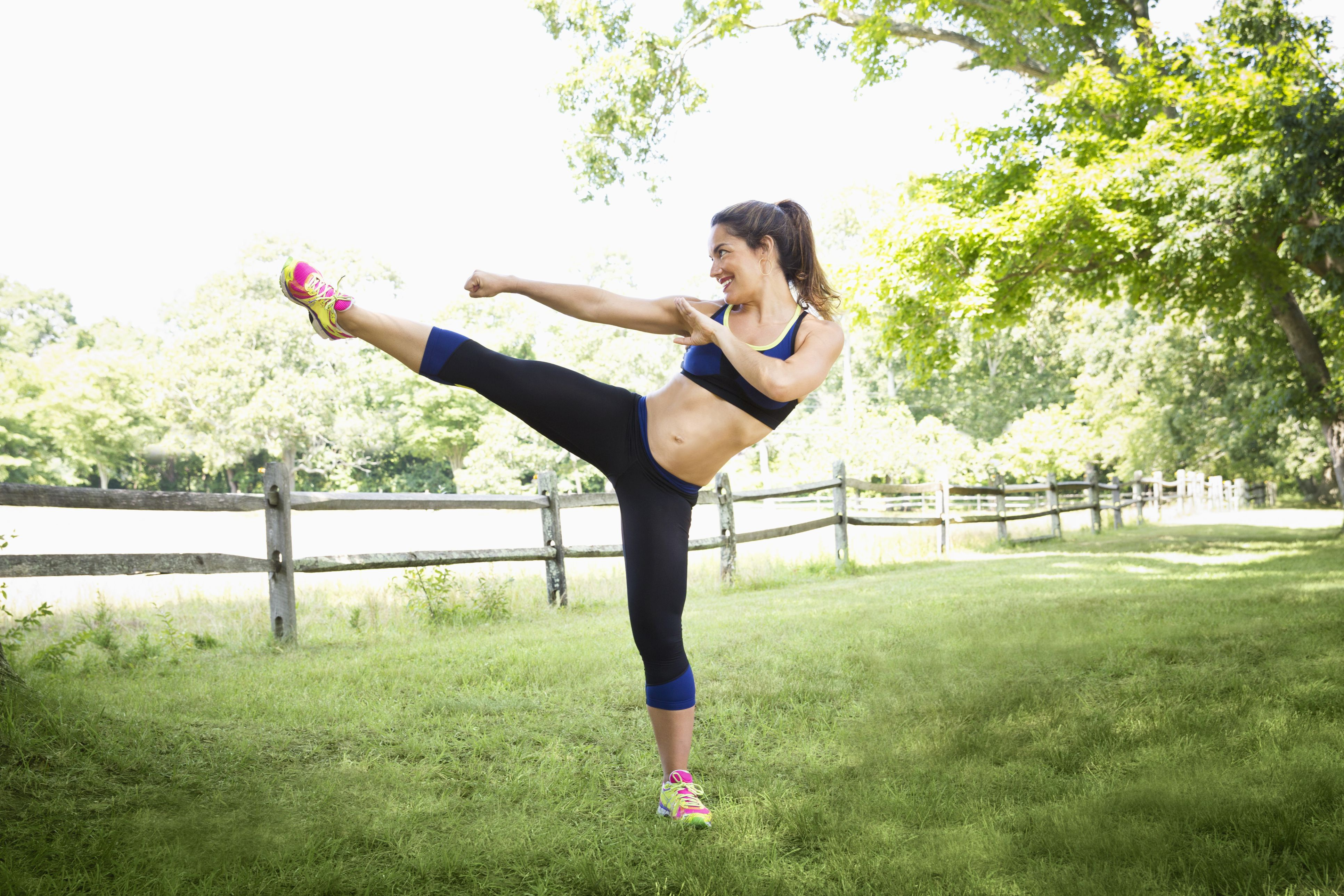 Outdoor Circuit Workout - Spice It Up