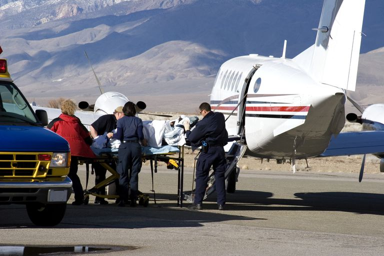 Air ambulance insurance coverage basics and examples