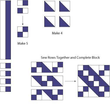 Jacob's Ladder Quilt Block Pattern : jacobs ladder quilt - Adamdwight.com