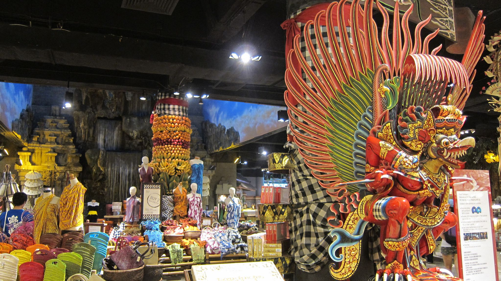 Top Shopping Malls in South Bali, Indonesia