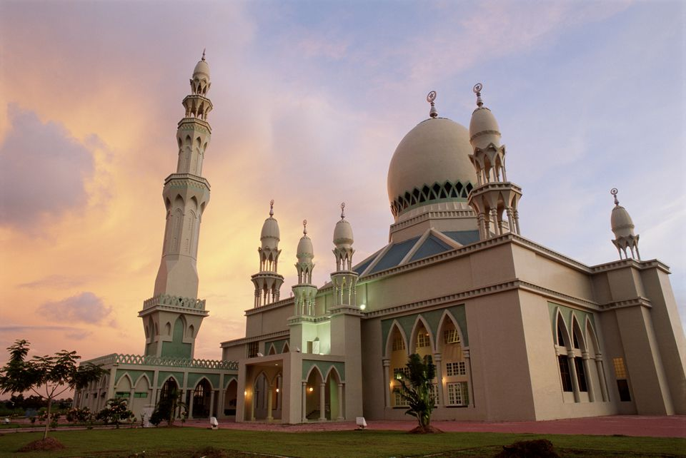 Mosque in very dry Brunei