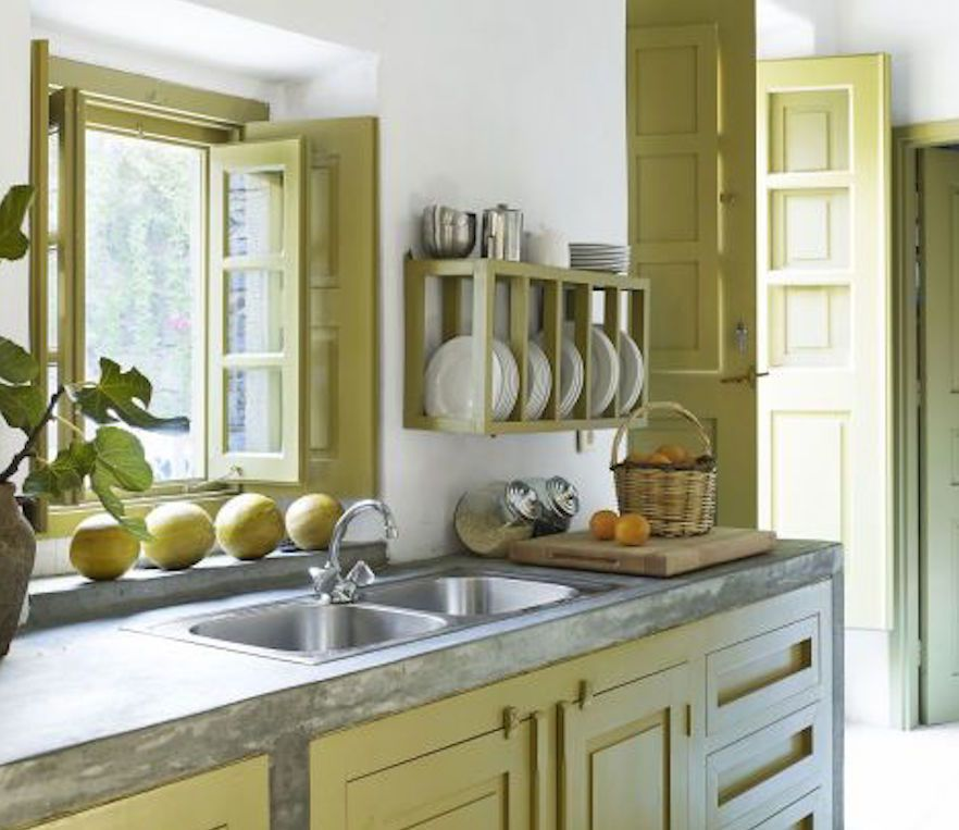 15 beautiful feng shui kitchen colors for Beautiful kitchen colors