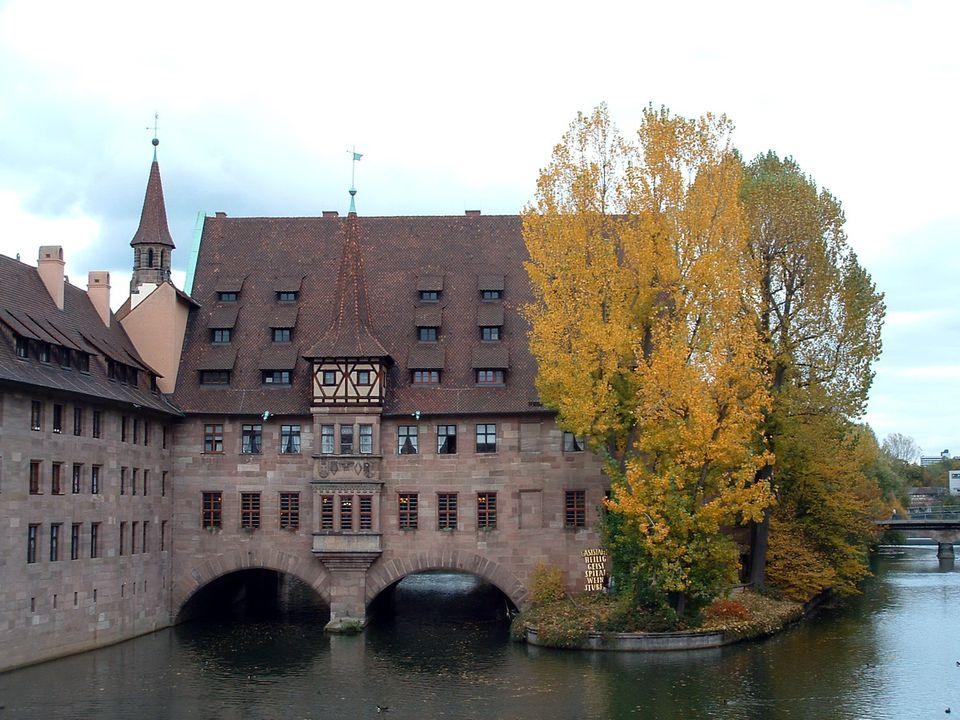 Nuremberg, Germany in October
