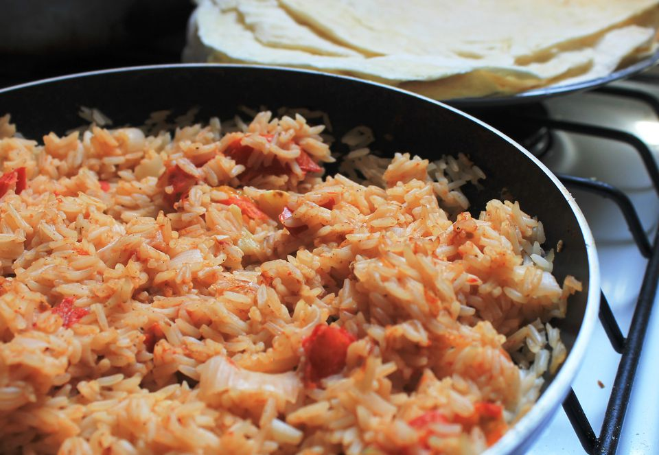 Vegan Mexican rice