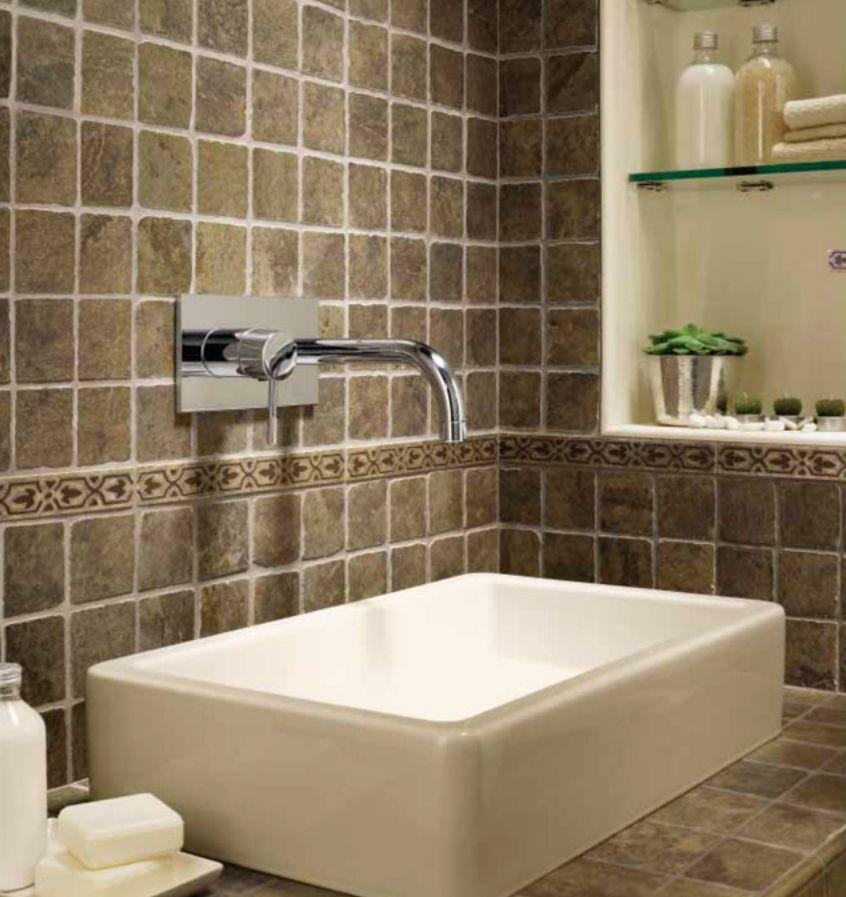 Bathroom Backsplash: Basics, Pictures, and Dimensions