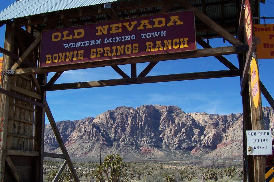 Bonnie Springs Old Nevada