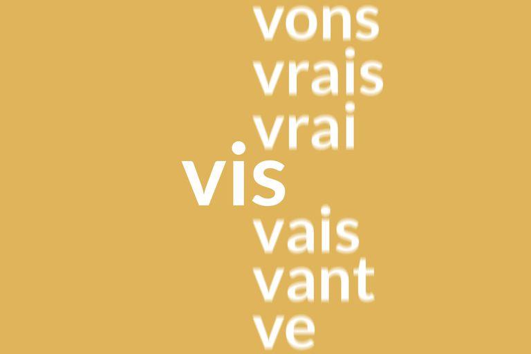 French Vivre conjugation