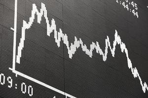 Stock Market Trading Chart