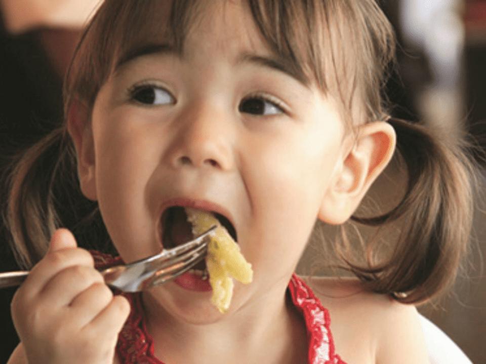 Kids eat free at Holiday Inn
