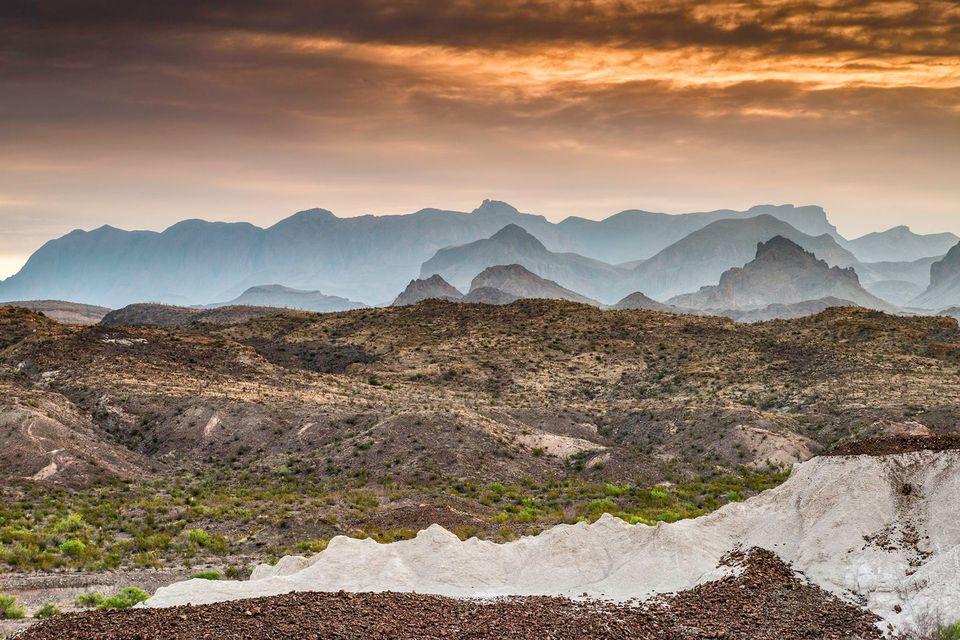 Chisos Mtns, Chihuahuan Desert, Big Bend, Texas