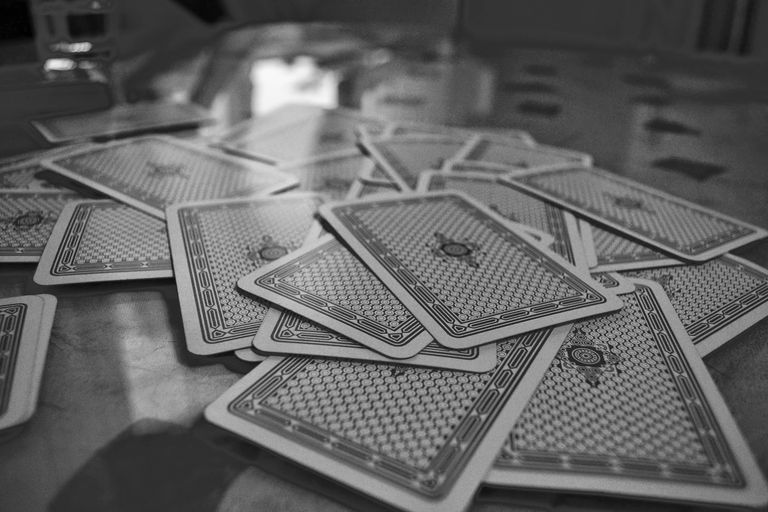 Photo of a stack of playing cards