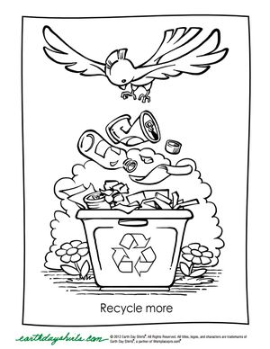 126 Free, Printable Earth Day Coloring Pages