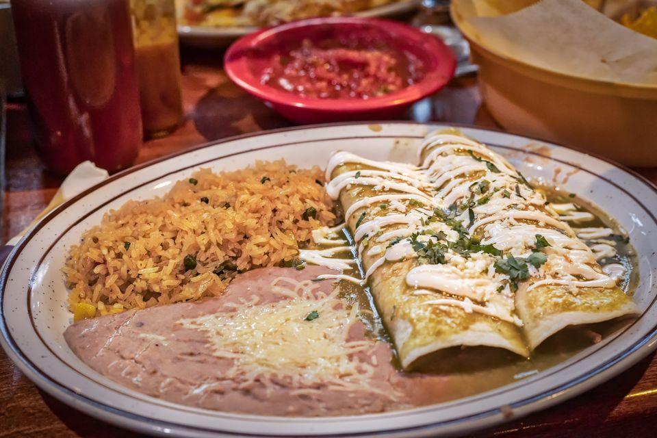 Burritos Verdes
