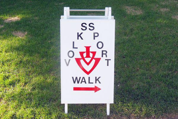 Volkssport Walk Sign