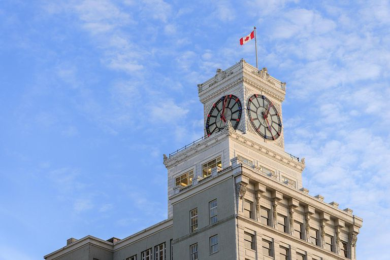 The Vancouver Block, a 100 year old herita...