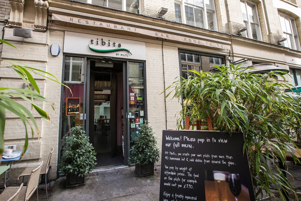 Tibits Heddon Street London
