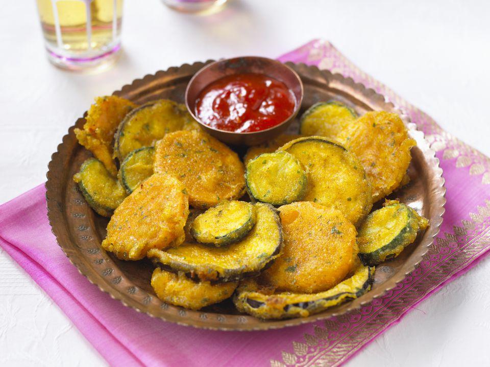 oven fried zucchini recipe