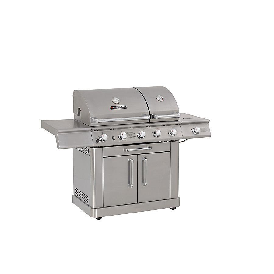 Perfect Flame Split-Lid Gas Grill Model #E3520-LPG