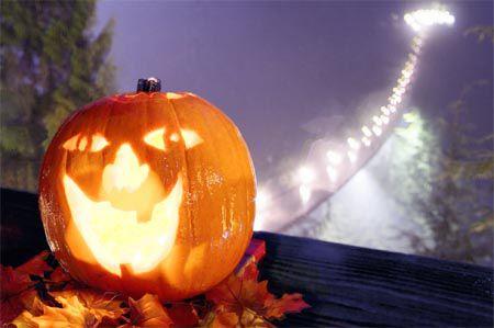 Halloween at Capilano Suspension Bridge