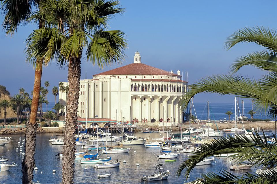 Catalina Island's Casino Building