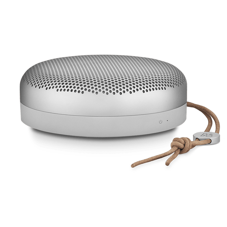 Beoplay A1 speaker in natural tone colorway