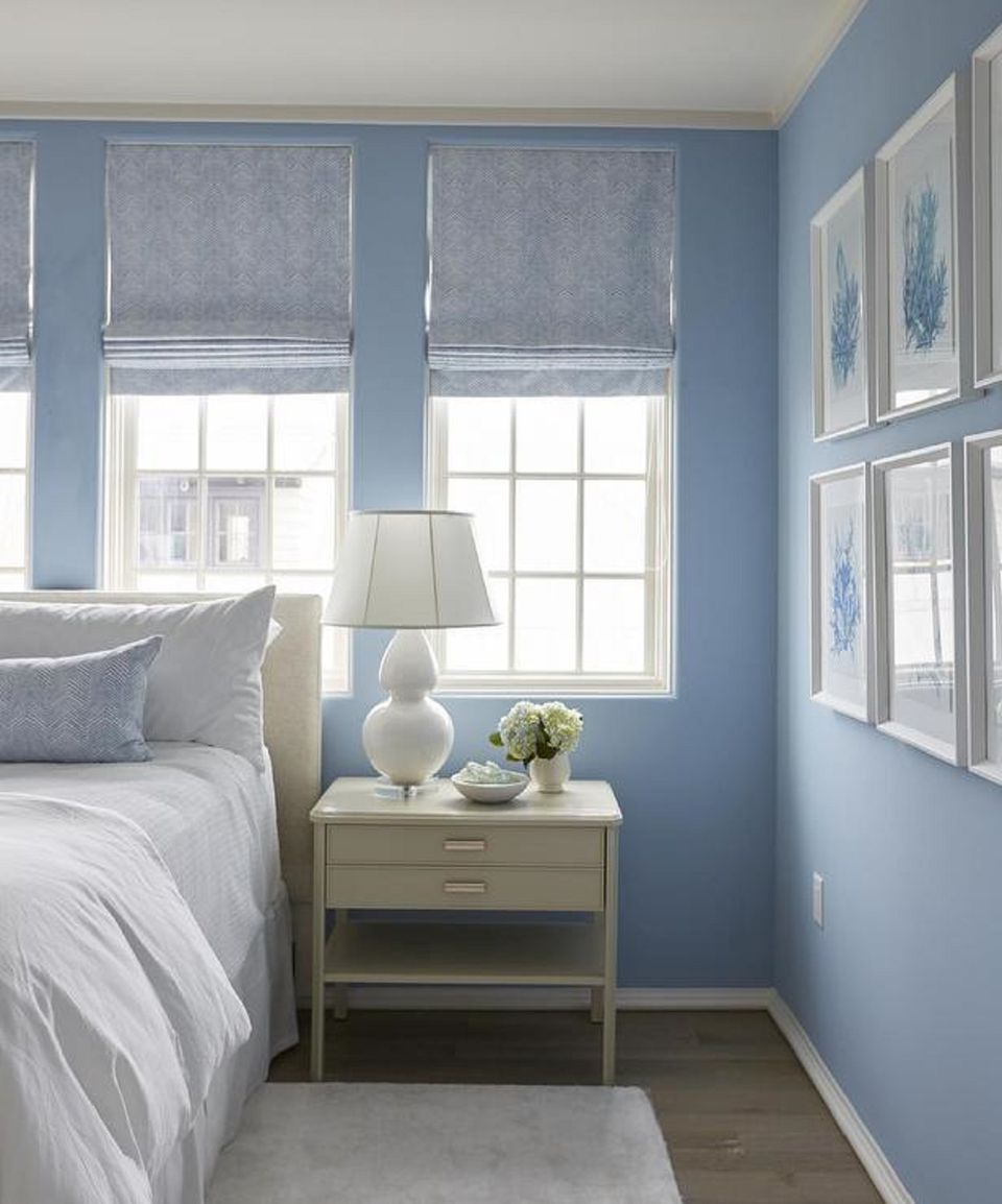 blue bedrooms. Cornflower Blue Bedroom Walls Bedrooms L