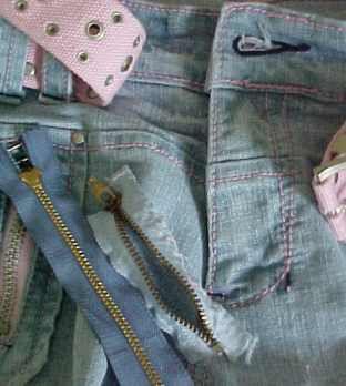 Replace a Broken Jeans Zipper