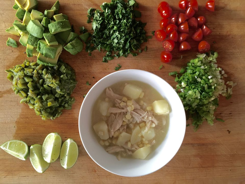 Chilean-Style Chicken Soup