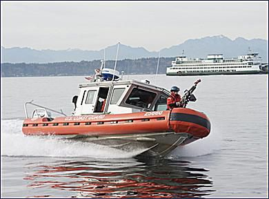 USCG New Response Boat Small is Highly Manuverable