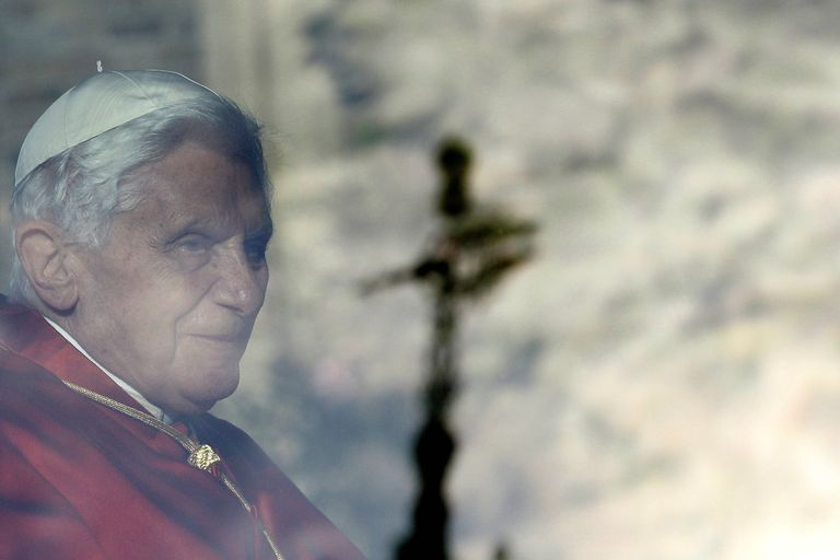 Pope Benedict XVI leaves Lambeth Palace, September 17, 2010. (Stefan Wermuth-WPA Pool/Getty Images)