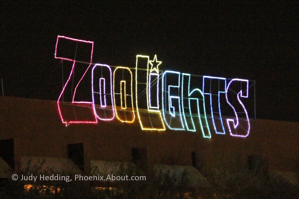 Holiday Lights In Phoenix Glitter And Glow In December - Phoenix Zoo Christmas Lights