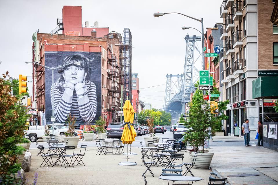 South Williamsburg streetscape, Brooklyn