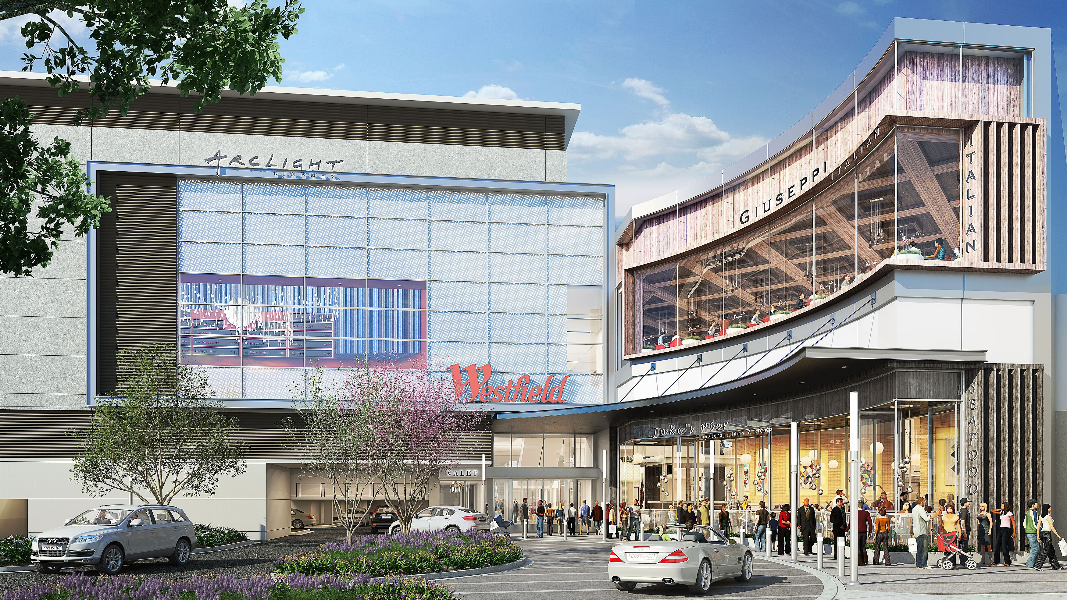 montgomery mall shopping dining and arclight cinemas