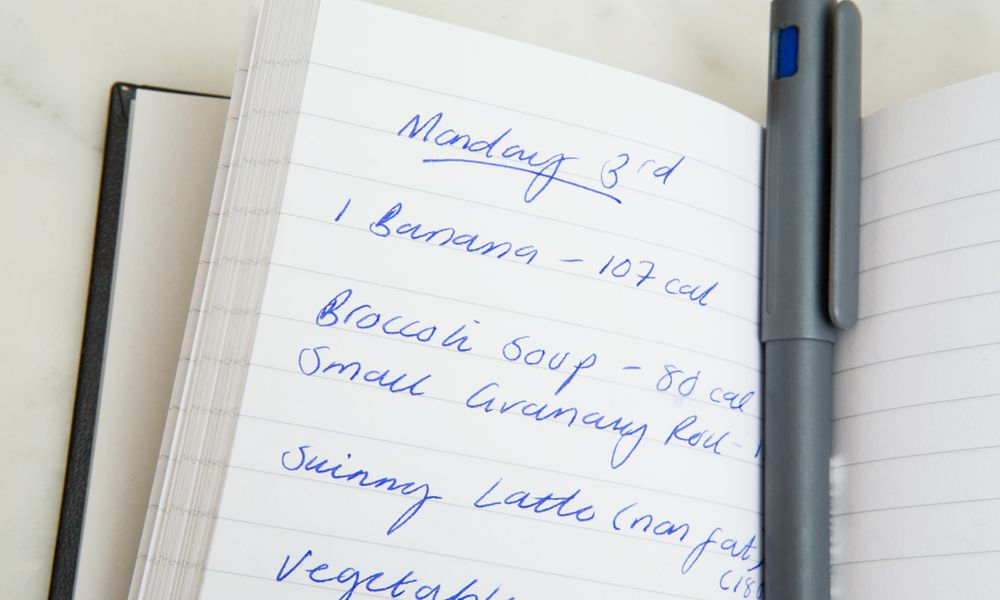 A food diary.